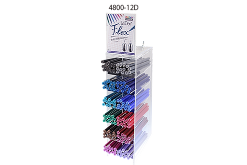 Le Pen FLEX Display - Filled with 12 Colors
