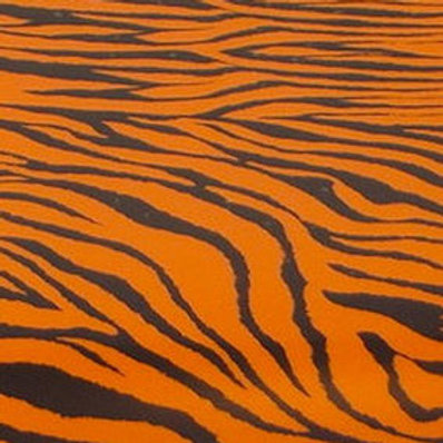 Tiger Patterned Heat Transfer