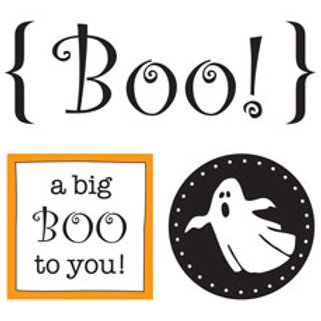52030 Boo Quick Card