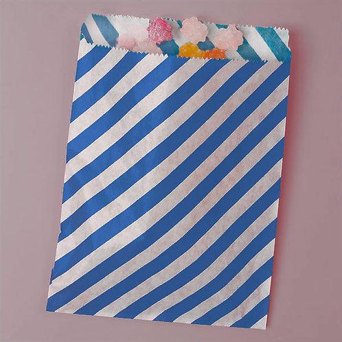 Royal Blue Stripe Bags
