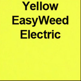 Easy Weed Yellow Electric  Heat Transfer