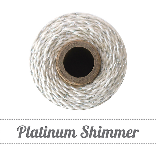 Platinum Shimmer Twinery Twine