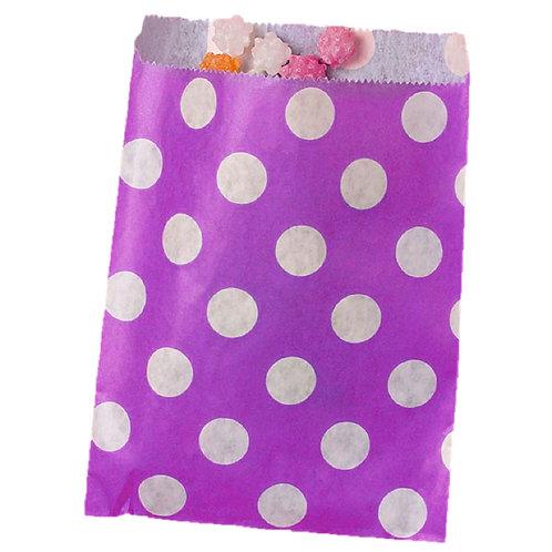 Purple Dot Bags