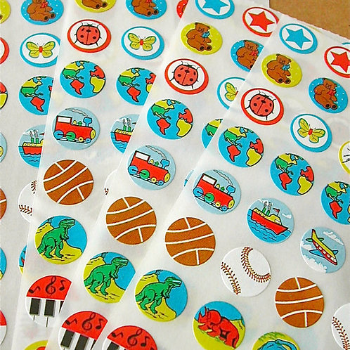 Tiny Sticker - Primary Assortment