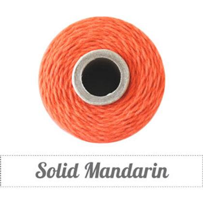 Solid Mandarin Twine