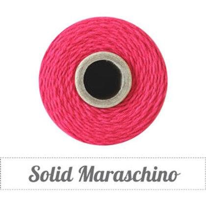 Maraschino Solid Twinery Twine Spool