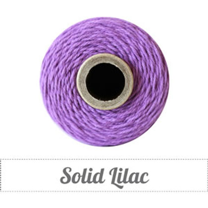 Solid Lilac Twine