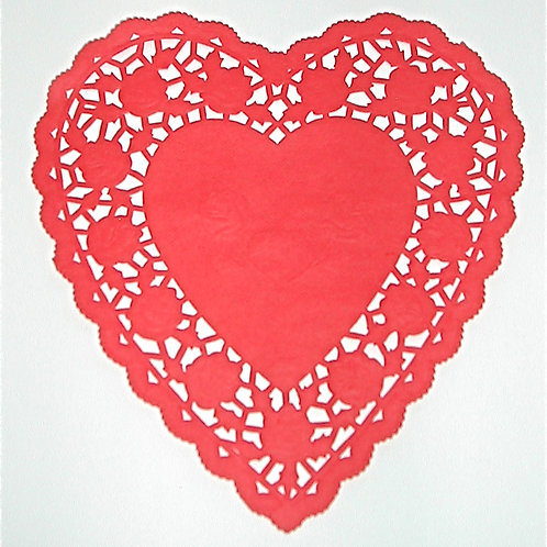 """10918 6"""" Red Heart  Doilies Packaged"""