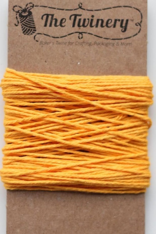 Marigold Solid Twine, Packaged
