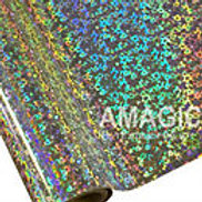 Silver Hearts Textile Foil