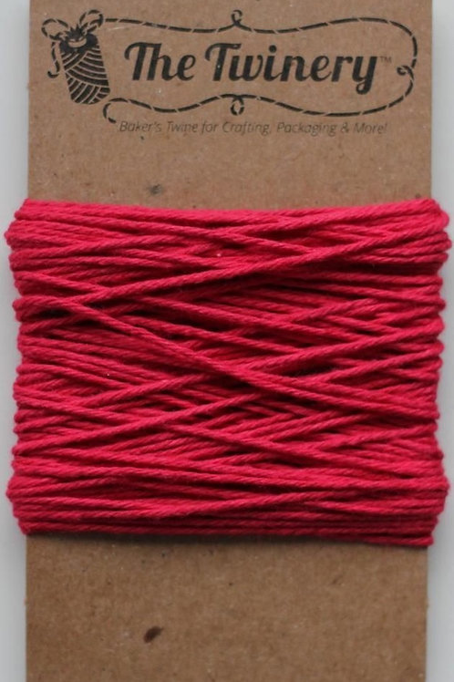 Maraschino Solid Twinery Twine, Packaged