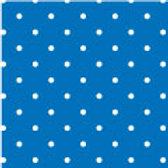 Patterned Vinyl - Blue Dots - 10 sheets