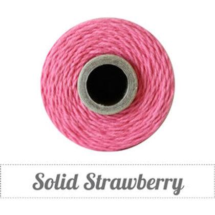 Solid Strawberry Twine