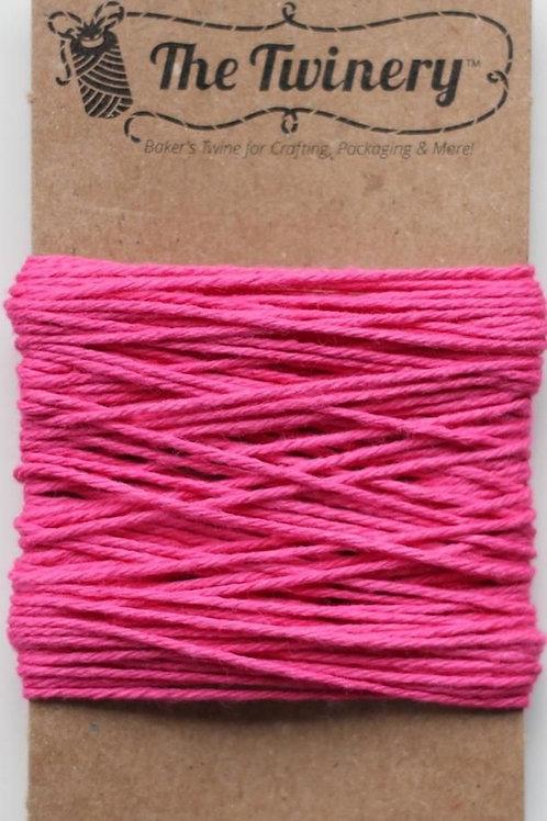 Pink Sorbet Solid Twine, Packaged
