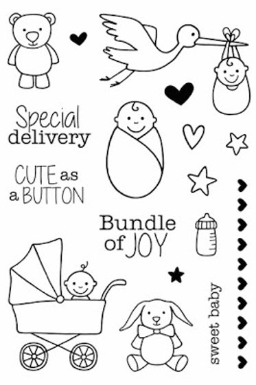 Special Delivery - Jane's Doodles Stamp