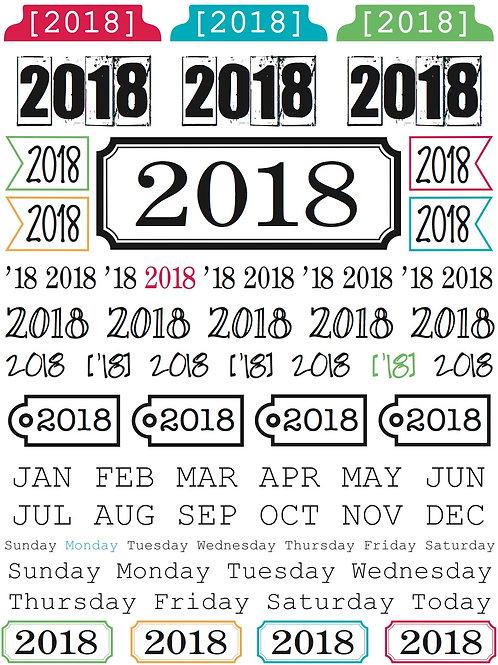 2018 Year of Memories - Packaged