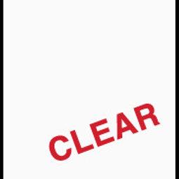 631-000 Matte Vinyl Clear Transparent