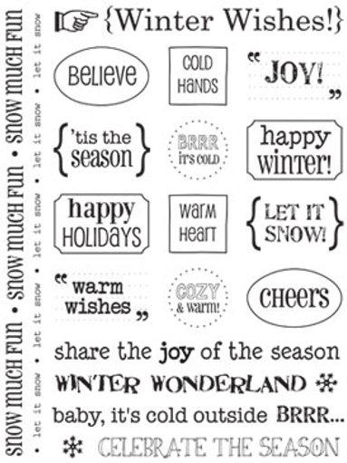 51009 Winter Sticker Sentiment