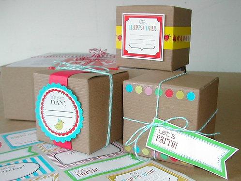 75022 It's a Wrap DIY Birthday Boxes Kit