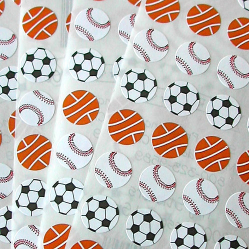 Tiny Sticker - Sports Assortment