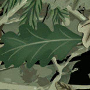 Camo Hunter Oak Green Patterned Heat Transfer