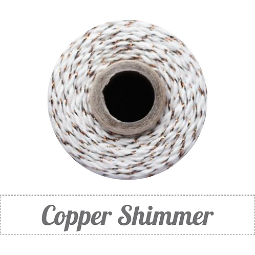Copper Shimmer Twinery Twine