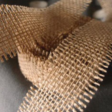 Burlap Ribbon, 1.5 inches x 10 yards