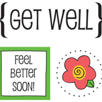 52009 Get Well Quick Card