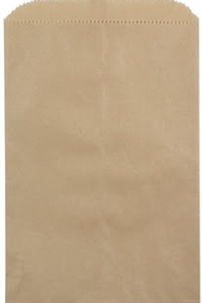 "16-70001 Kraft Bag 4"" x 6"" Packaged"