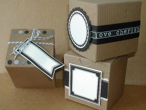 75023 It's a Wrap DIY Wedding Boxes Kit