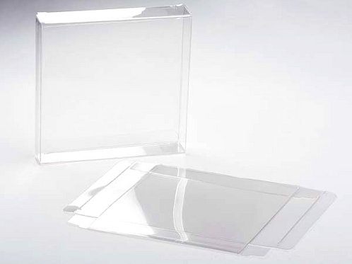 16-67023 Square Card Box Clear Packaged
