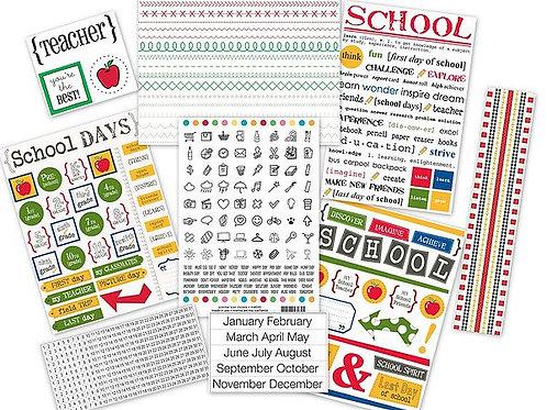 Teacher Planner Kit