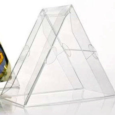67014 Triangle Clear Box Bulk