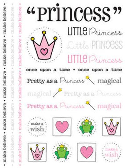 53007 Princess We've Got Your Sticker