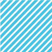 Patterned Vinyl - Turquoise Stripes - 10 sheets