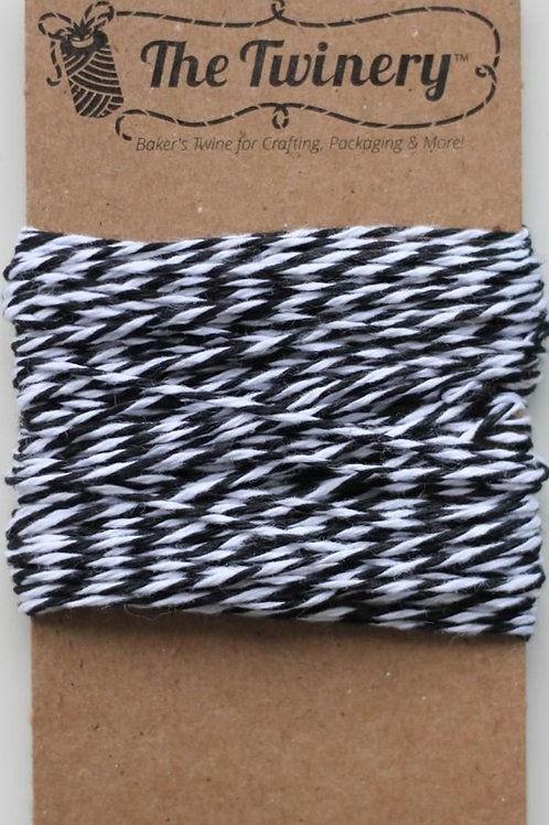 Charcoal Black Twinery Twine, Packaged