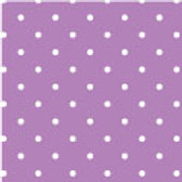 Patterned Vinyl - Purple Dots - 10 sheets