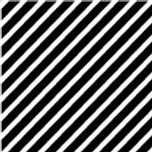 Patterned Vinyl - Black Stripes - 10 sheets