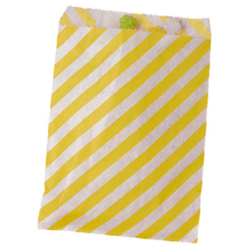 Patterned Bags - Yellow Stripe