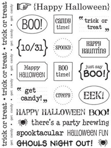 51007 Halloween Sticker Sentiment