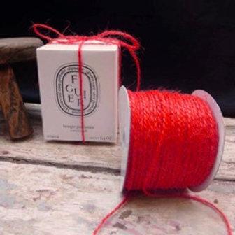 Jute Twine - Red