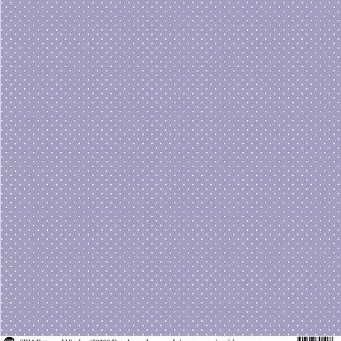 Patterned Vinyl  - Lavender Dots - 10 sheets