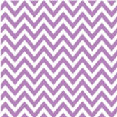 Patterned Vinyl - Purple Chevron - 10 s