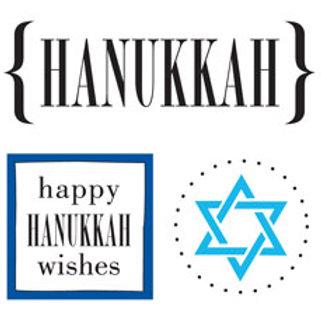 52037 Hanukkah Quick Card