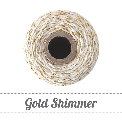 Gold Shimmer Twinery Twine