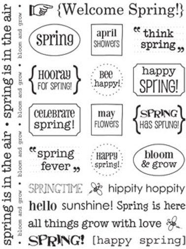 51010 Spring Sticker Sentiment