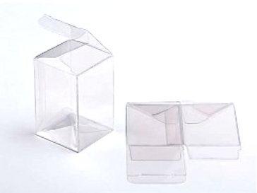 16-67007 Rectangle Clear Box Packaged