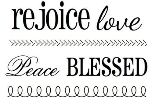 BIG Rejoice - SRM Stamps by Susan