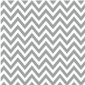 Patterned Vinyl - Grey Chevron - 10 sheet