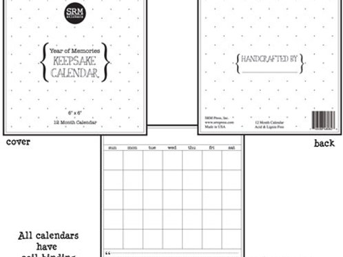 """6"""" x 6"""" Planner Calendar"""